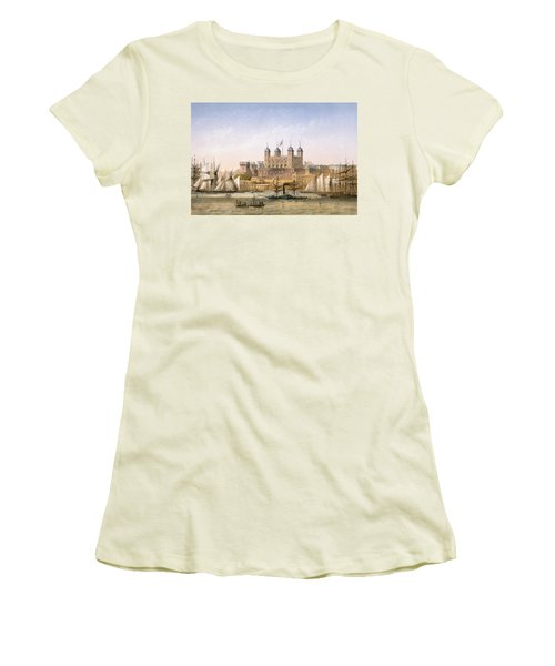 Tower Of London, 1862 Women's T-Shirt (Athletic Fit)