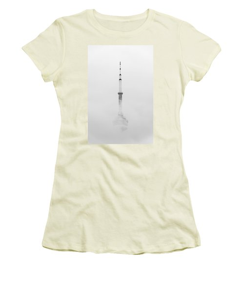 Towering Through The Fog Women's T-Shirt (Athletic Fit)
