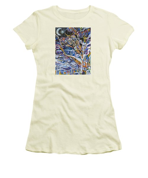 Transitions Women's T-Shirt (Junior Cut) by Leela Payne