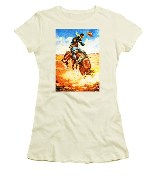 Trooper On A Skiddish Mount Women's T-Shirt (Athletic Fit)