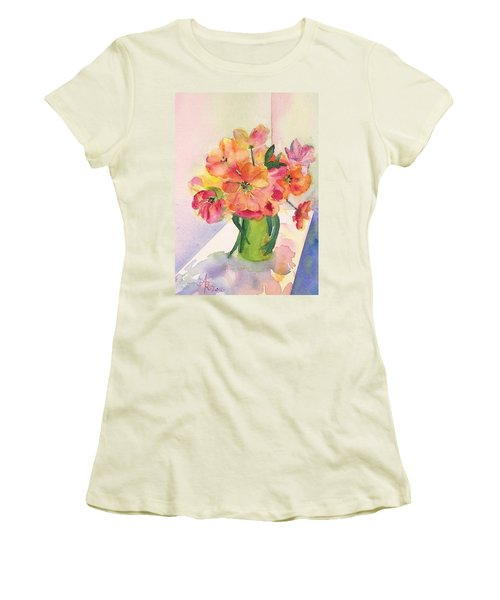 Tulips For Mother's Day Women's T-Shirt (Junior Cut) by Anna Ruzsan