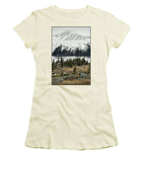Turnagain Arm  Women's T-Shirt (Athletic Fit)