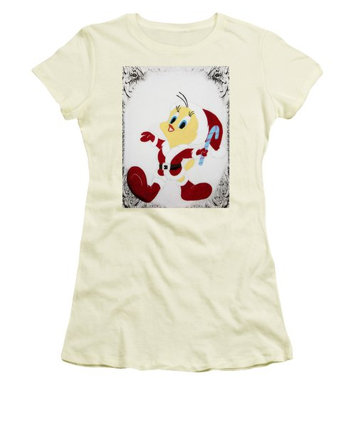 Tweety Christmas Women's T-Shirt (Athletic Fit)