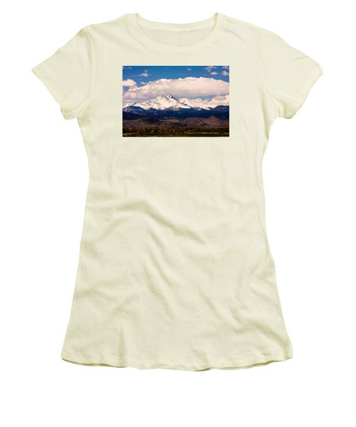 Twin Peaks Snow Covered Women's T-Shirt (Junior Cut)