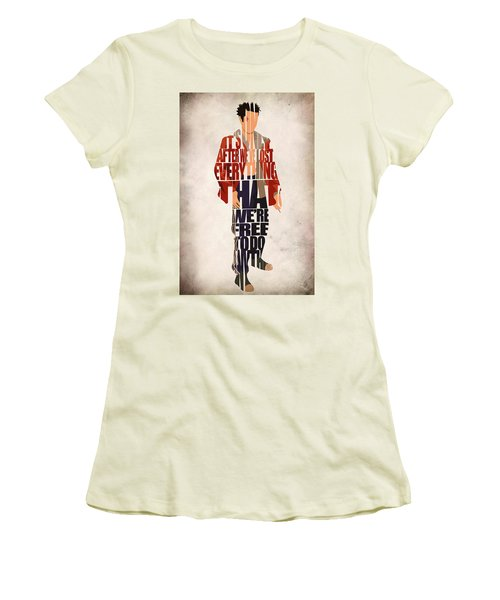 Tyler Durden Women's T-Shirt (Athletic Fit)