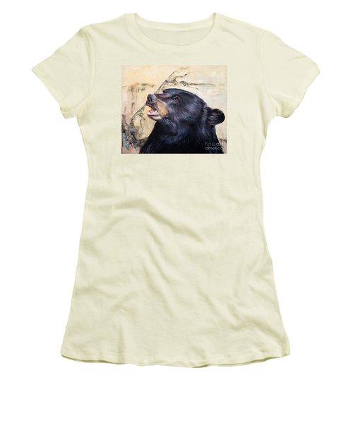 Under The All Sky Women's T-Shirt (Junior Cut) by J W Baker