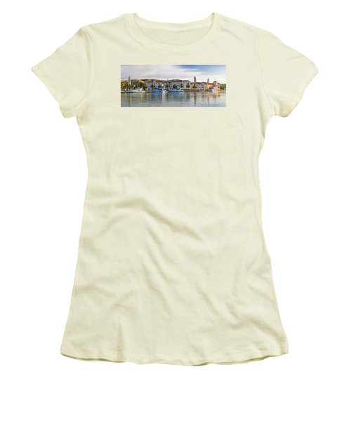 Unesco Town Of Trogit View Women's T-Shirt (Athletic Fit)