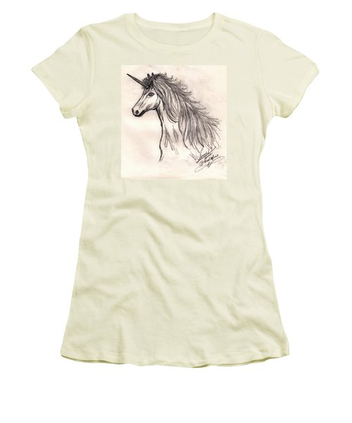 Unicorn Women's T-Shirt (Athletic Fit)