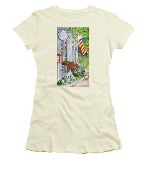 University Of Nantucket Shop Women's T-Shirt (Junior Cut)