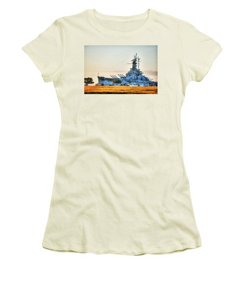 Uss Alabama Women's T-Shirt (Athletic Fit)