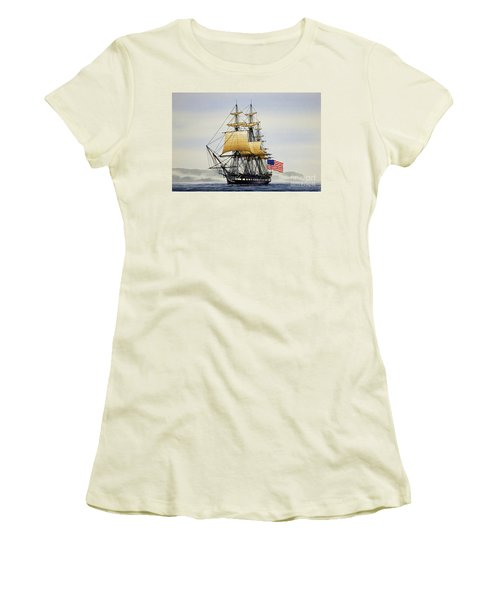 Uss Constitution Women's T-Shirt (Athletic Fit)