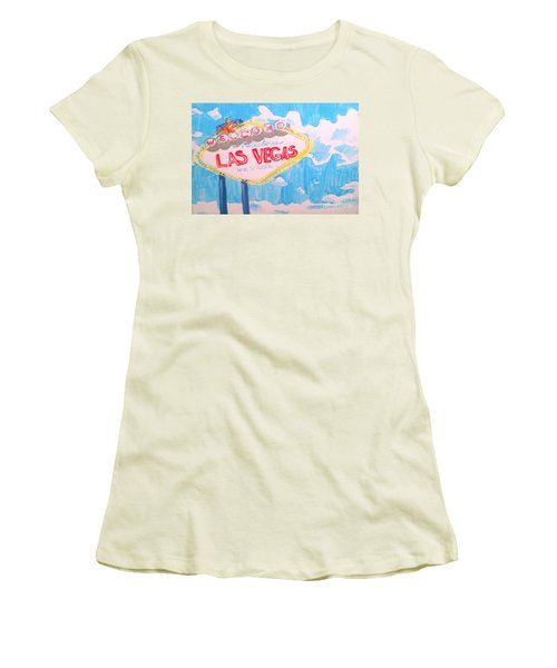 Vegas Women's T-Shirt (Athletic Fit)