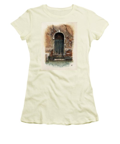 Venetian Door 01 Elena Yakubovich Women's T-Shirt (Athletic Fit)