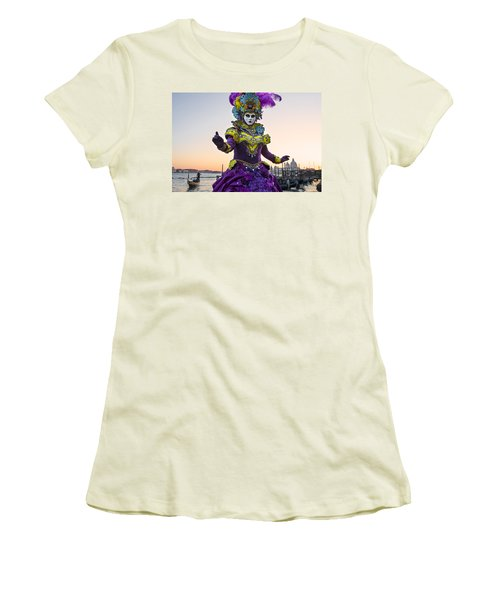 Venice Carnival Iv Women's T-Shirt (Athletic Fit)