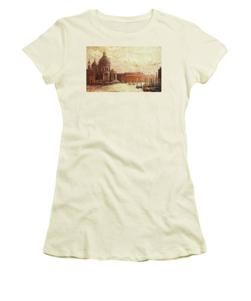 Venice - Santa Maria Della Salute Women's T-Shirt (Athletic Fit)