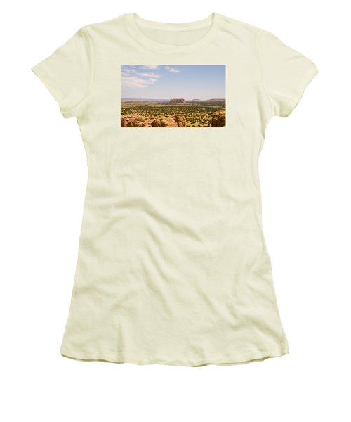 View From Acoma Mesa Women's T-Shirt (Athletic Fit)