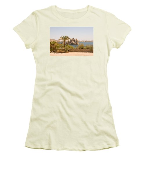 View Of Lake Women's T-Shirt (Athletic Fit)