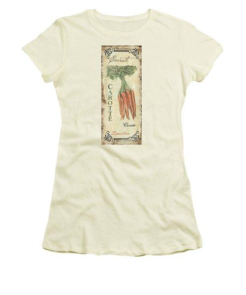 Vintage Vegetables 4 Women's T-Shirt (Athletic Fit)