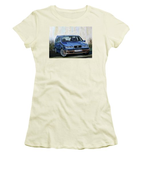 Volvo Women's T-Shirt (Junior Cut) by Anna Ruzsan