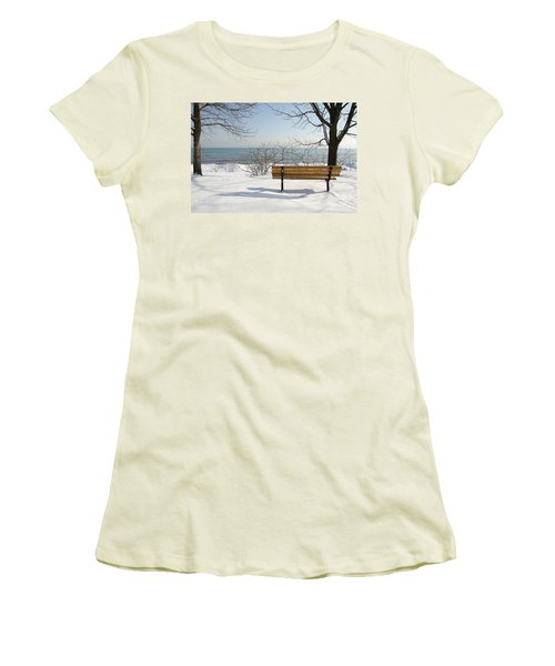 Waiting For Spring Women's T-Shirt (Athletic Fit)