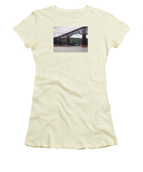 Walkway Over The Hudson Women's T-Shirt (Athletic Fit)
