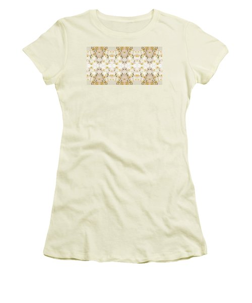 Wall Of Orchids II Panorama Women's T-Shirt (Athletic Fit)