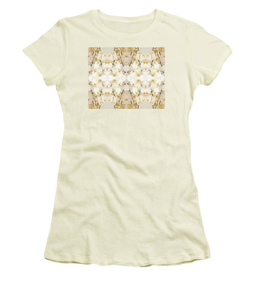 Wall Of Orchids II Women's T-Shirt (Athletic Fit)