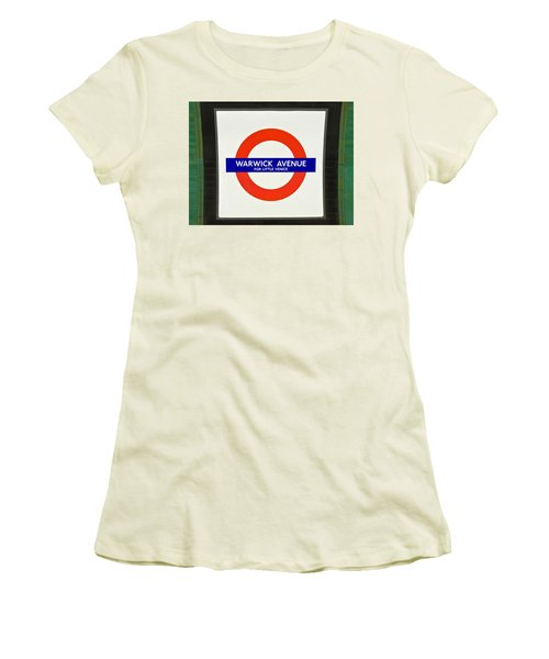 Warwick Station Women's T-Shirt (Athletic Fit)