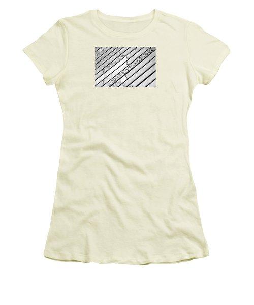 Watermarked 3 Women's T-Shirt (Junior Cut) by Wendy Wilton