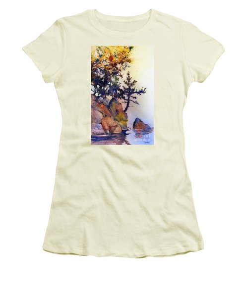 Water's Edge Women's T-Shirt (Junior Cut)