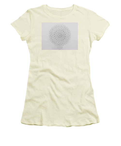 Wave Particle Duality Original Women's T-Shirt (Junior Cut) by Jason Padgett