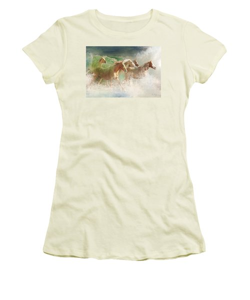 Waves Of God's Glory Women's T-Shirt (Athletic Fit)