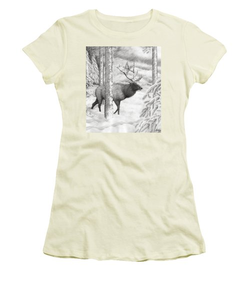 Weathering The Storm Women's T-Shirt (Junior Cut)