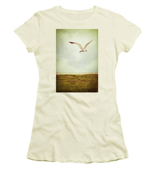 Where To Go? Women's T-Shirt (Junior Cut) by Trish Mistric