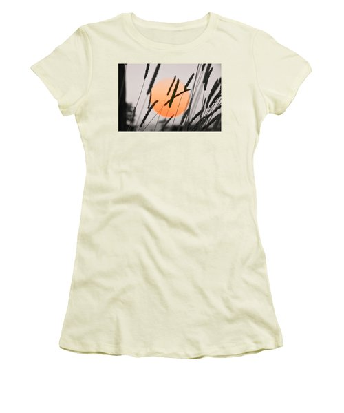 Women's T-Shirt (Junior Cut) featuring the photograph Whispers by Charlotte Schafer
