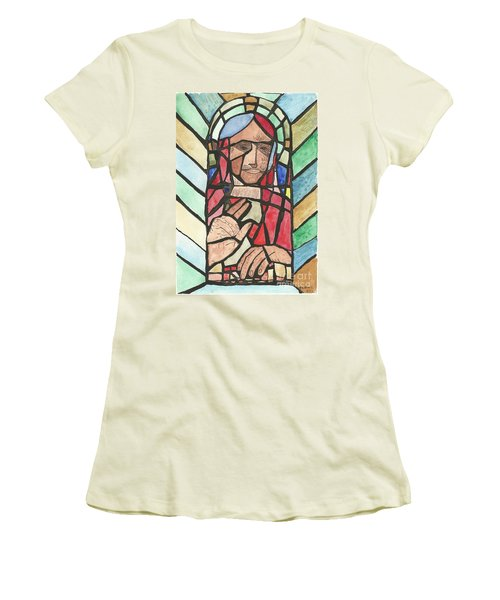 Window Of Peace Women's T-Shirt (Junior Cut) by Tracey Williams