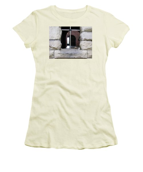 Window Watcher Women's T-Shirt (Athletic Fit)