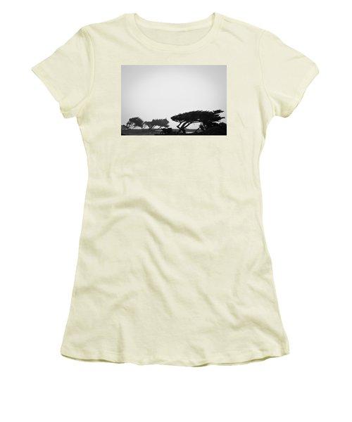 Windswept Shoreline Women's T-Shirt (Athletic Fit)