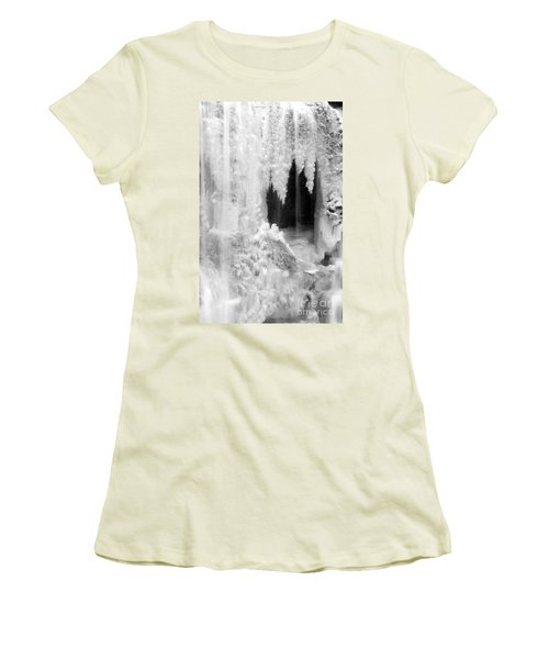 Winter Cave Women's T-Shirt (Athletic Fit)