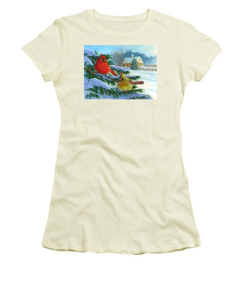 Winterlude Women's T-Shirt (Athletic Fit)