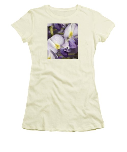 Wisteria Women's T-Shirt (Junior Cut) by Richard Thomas