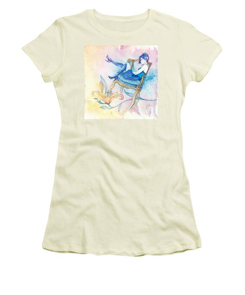 With Head In The Clouds Women's T-Shirt (Athletic Fit)
