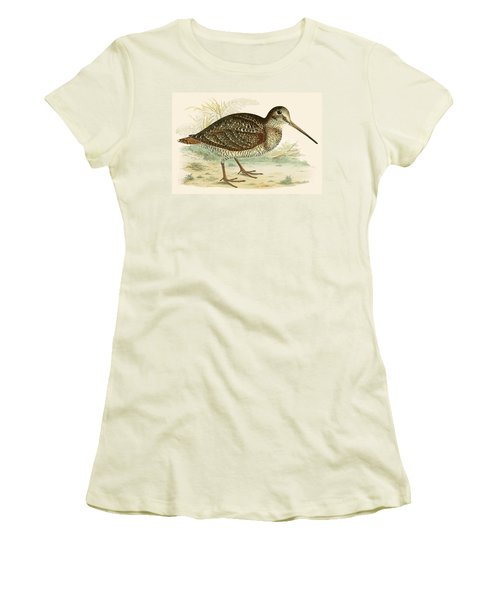 Woodcock Women's T-Shirt (Athletic Fit)
