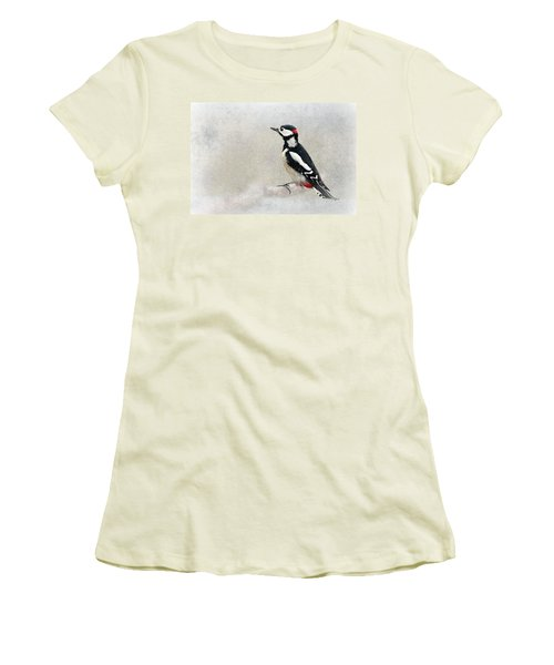 Woodpecker Women's T-Shirt (Athletic Fit)
