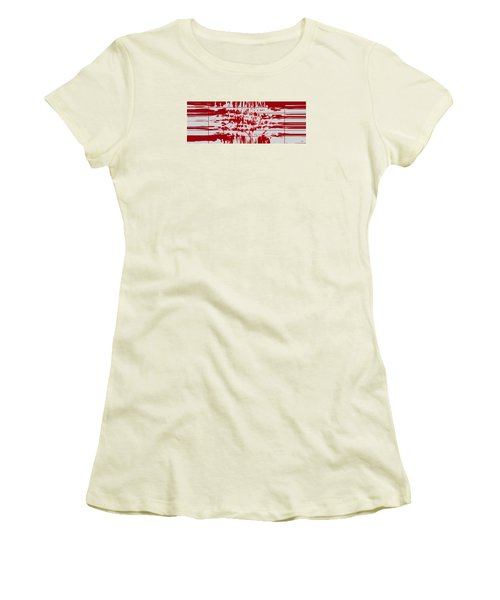 Your Thoughts Are Feeding His Soul  Women's T-Shirt (Junior Cut) by Sir Josef - Social Critic -  Maha Art
