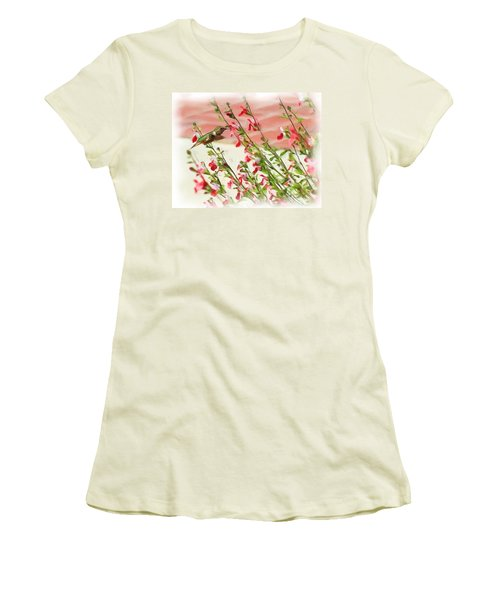 A Garden Delight Women's T-Shirt (Junior Cut) by Heidi Smith