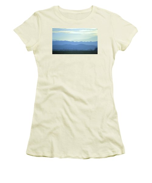 Women's T-Shirt (Junior Cut) featuring the photograph Layers by Rima Biswas