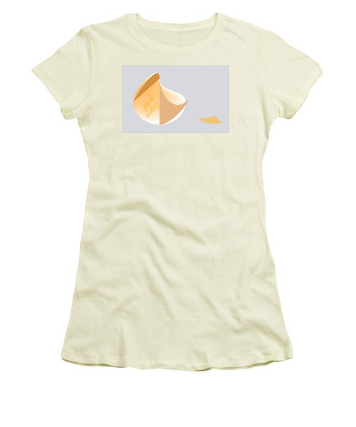 Snail Oracle Women's T-Shirt (Junior Cut) by Kevin McLaughlin