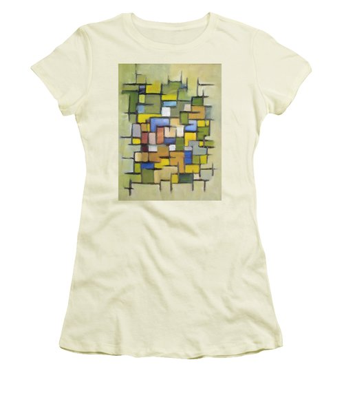 2012 Abstract Line Series Xx Women's T-Shirt (Junior Cut) by Patricia Cleasby
