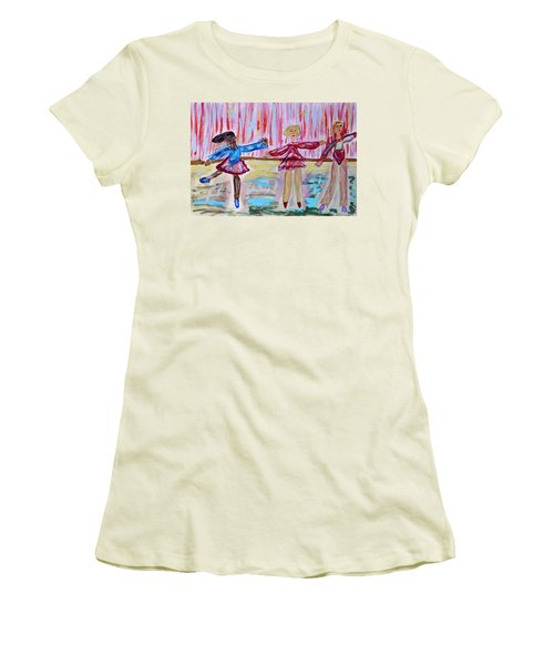 Ballerina Class Women's T-Shirt (Athletic Fit)